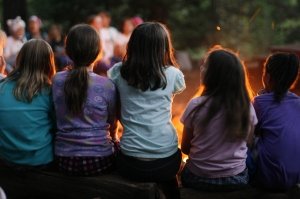 Girl Scouts Campfire