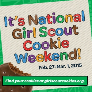 National GS Cookie Weekend